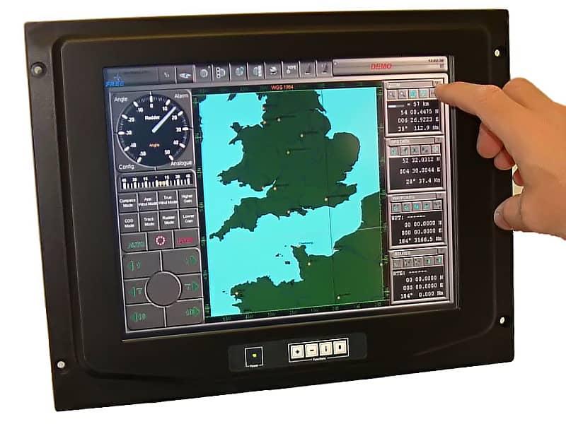 12.1'' Panel Mount Titan & Poseidon Monitor