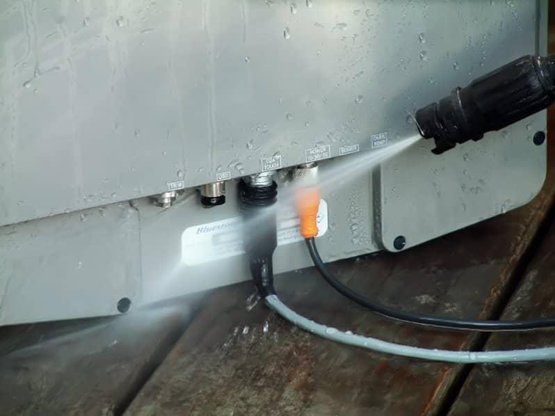 15'' Free Mount IP69K Waterproof Connectors