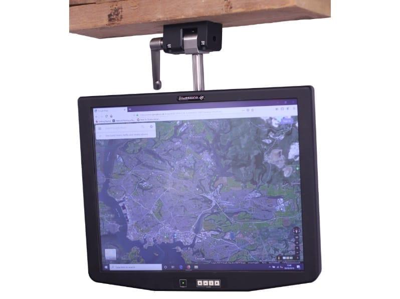 "19"" Titan Monitor Custom Mounting Bracket - Front"