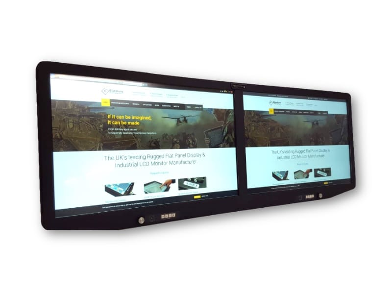 24 Dual Screen Monitor - Front